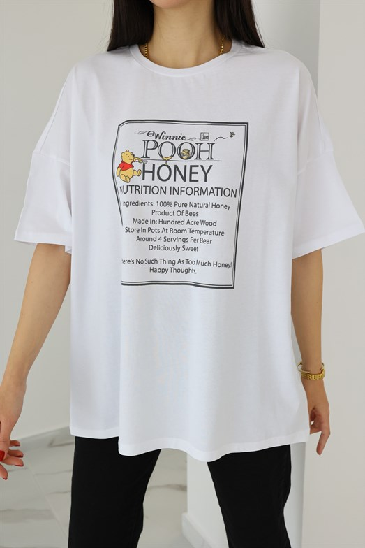 Pooh Honey Beyaz T-shirt